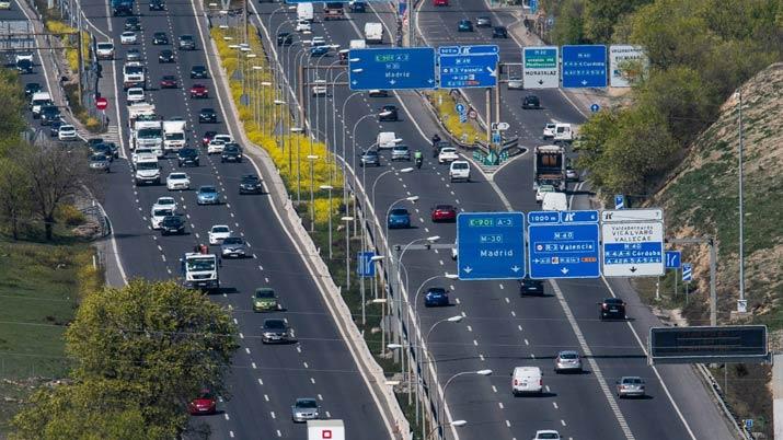 Mapas de carreteras y autopistas de peaje Espaa 2017