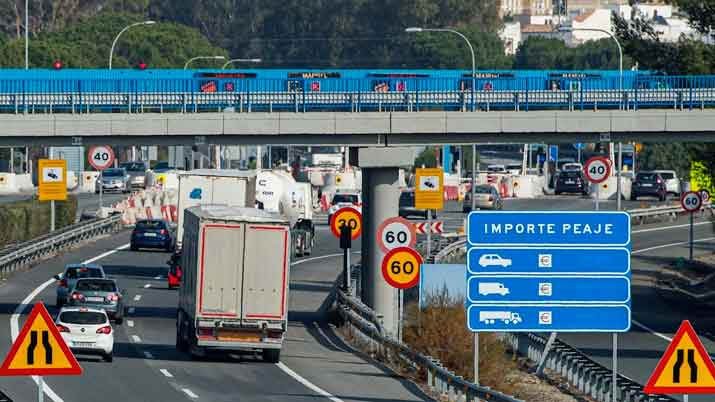 Mapas De Carreteras Y Autopistas De Peaje Espana 2020